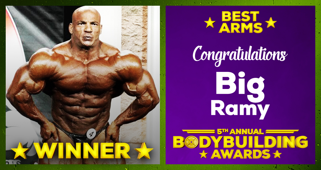 Big Ramy Best Arms 2020