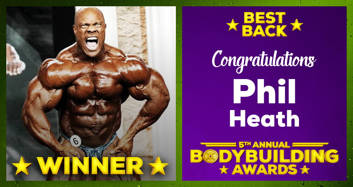 Phil Heath Best Back 2020