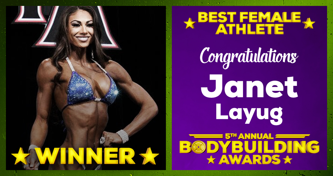 Janet Layug Best Female Athlete 2020