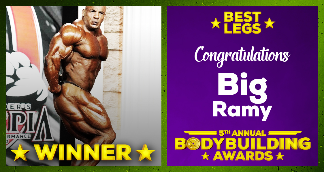 Big Ramy Best Legs 2020