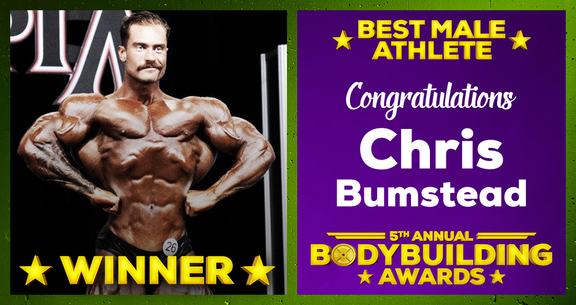 Chris Bumstead Athlete Of The Year 2020