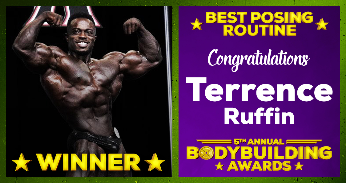 Terrence Ruffin Best Posing Routine 2020