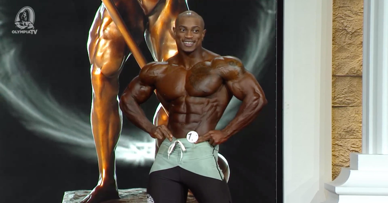 Brandon Hendrickson Posing Olympia 2020
