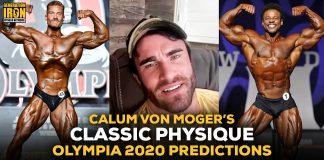 Calum Von Moger Olympia 2020 Predictions