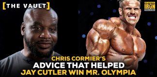 Chris Cormier Jay Cutler Advice Olympia