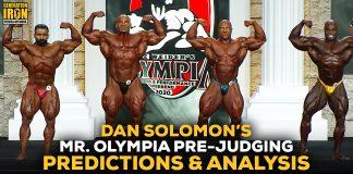 Mr. Olympia 2020 pre-judging predictions Dan Solomon