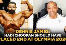 Dennis James Hadi Choopan Olympia 2020