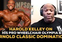 Harold Kelley Olympia 2020 Wheelchair bodybuilding