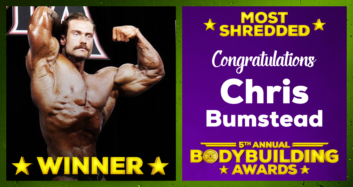 Chris Bumstead Most Shredded Bodybuilder 2020