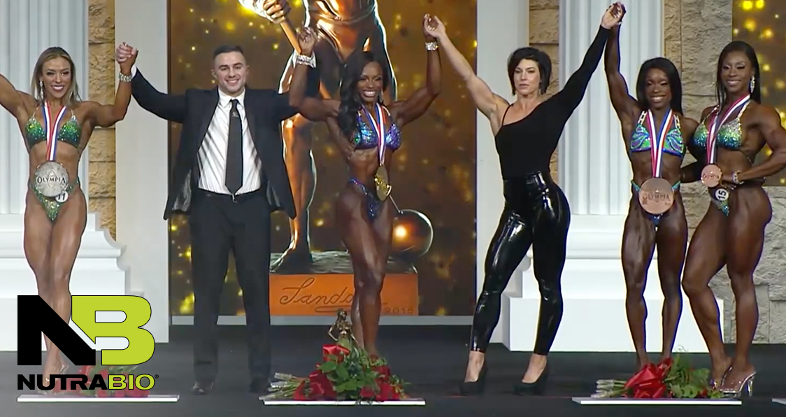 Olympia 2020 Figure Results