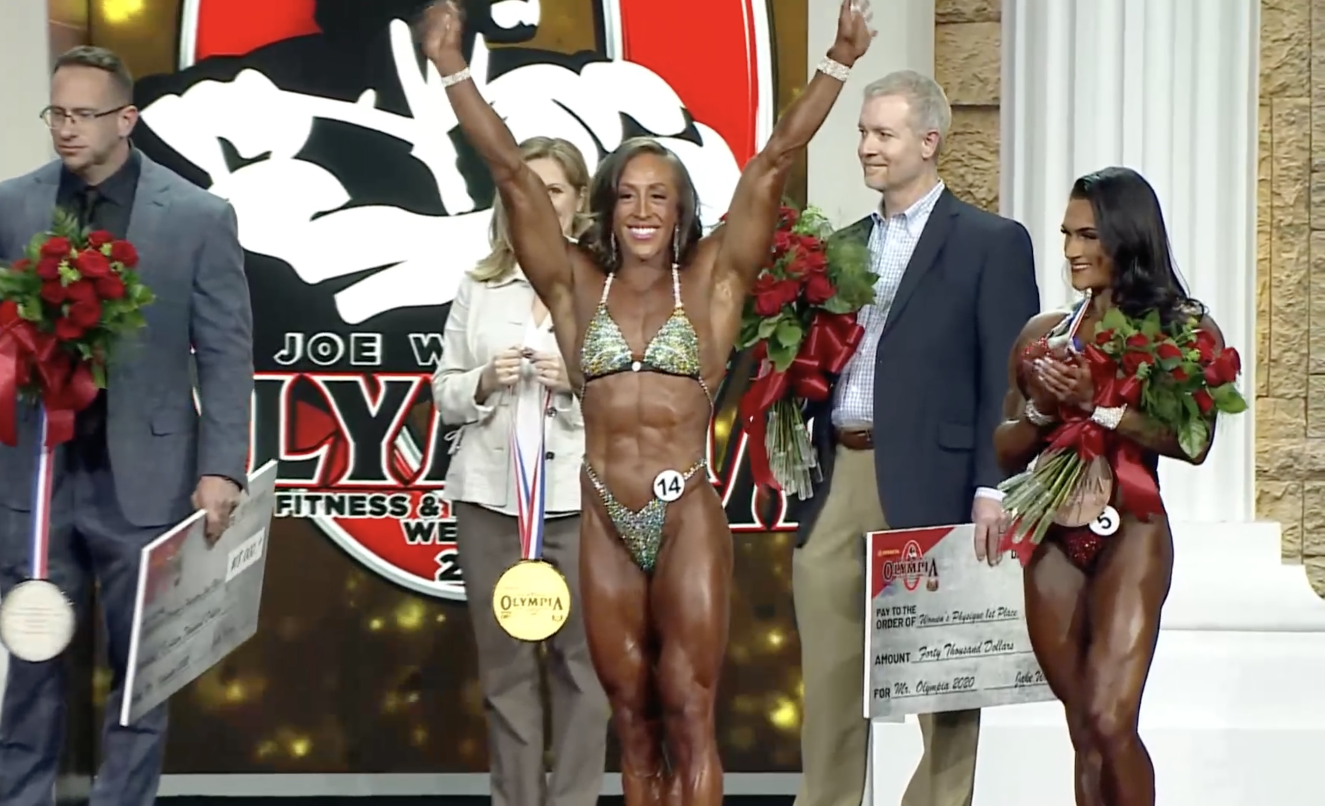 Olympia 2020 Women's Physique Results