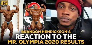 Brandon Hendrickson Olympia 2020 Mens' Open