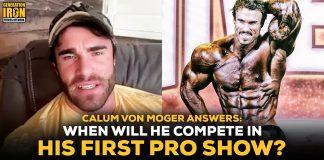 Calum Von Moger pro show bodybuilding