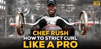 Chef Rush Strict Curls Workout