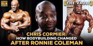Chris Cormier Ronnie Coleman bodybuilding changed