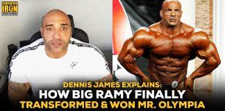Dennis James Big Ramy Olympia 2020