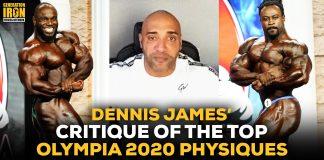 Dennis James Olympia 2020 Physique Critique