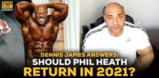 Dennis James Phil Heath Olympia 2021