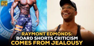 Raymont Edmonds Men's Physique board shorts
