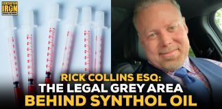 Rick Collins synthol oil