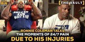 Ronnie Coleman Pain Surgery