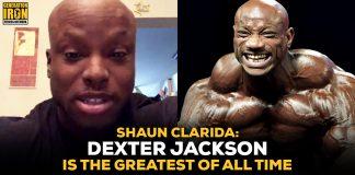 Shaun Clarida Dexter Jackson Greatest Of All Time