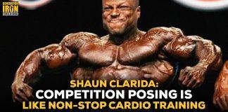 Shaun Clarida Bodybuilding Posing