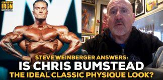 Steve Weinberger Chris Bumstead Classic Physique