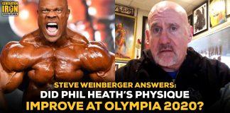 Steve Weinberger Phil Heath Olympia 2020