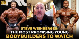Steve Weinberger young bodybuilders