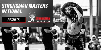 Strongman Masters Nationals 2021 Results