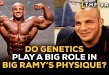 Big Ramy genetics physique