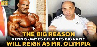 Dennis James Big Ramy Olympia Reign