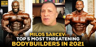 Milos Sarcev most threatening bodybuilders 2021