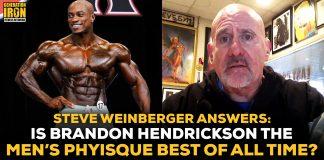 Steve Weinberger Brandon Hendrickson Men's Physique