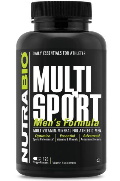 NutraBio MultiSport For Men