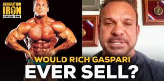 Rich Gaspari Nutrition Sell