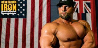 Arash Rahbar bodybuilder