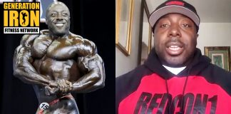 George Peterson Bodybuilding Posing