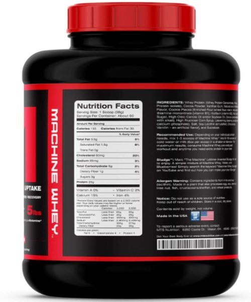 MTS Nutrition_Machine Whey_Ingredients