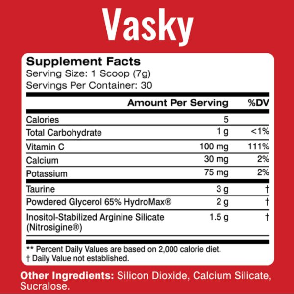 MTS Nutrition_Vasky_Ingredients