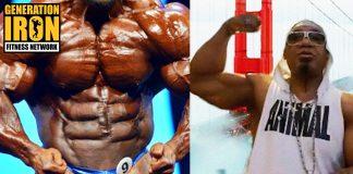 Melle Mel bodybuilding