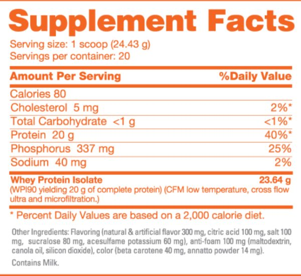 NutraBio_Clear Isolate_Ingredients