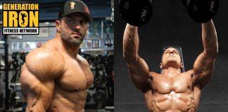 Arash Rahbar lifting heavy