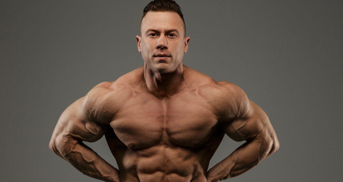 muscle strength training men