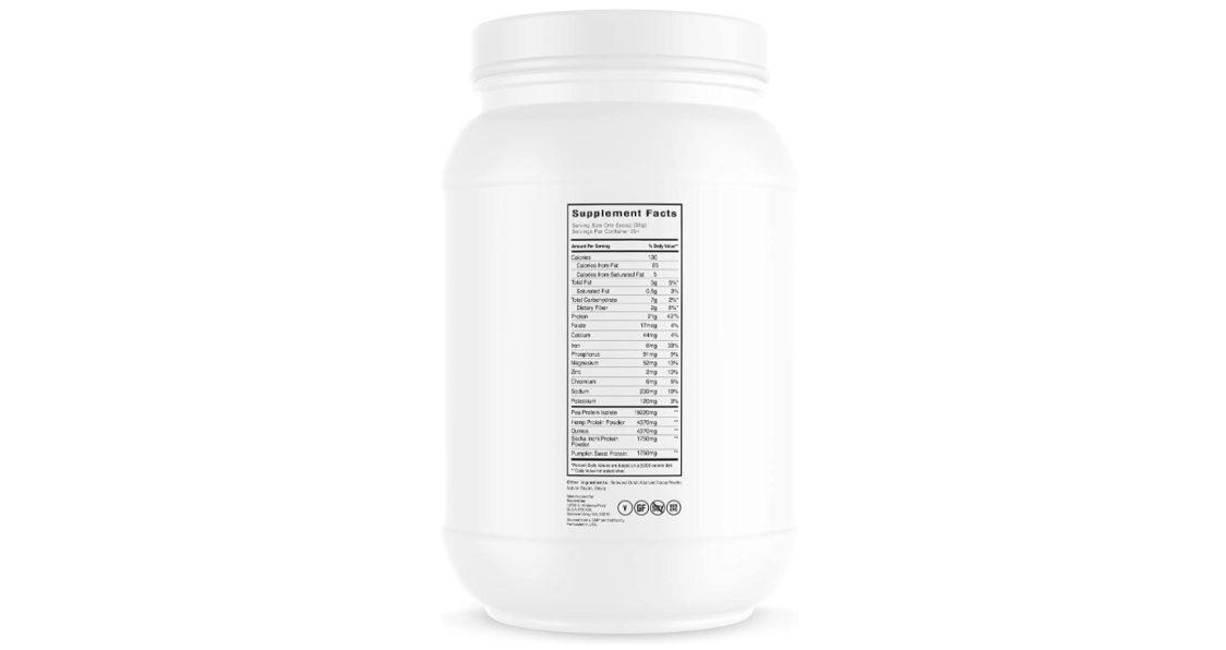 Swolverine Plant Protein
