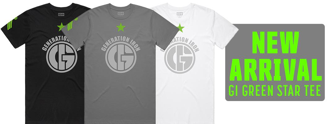 Generation Iron Apparel Green Star