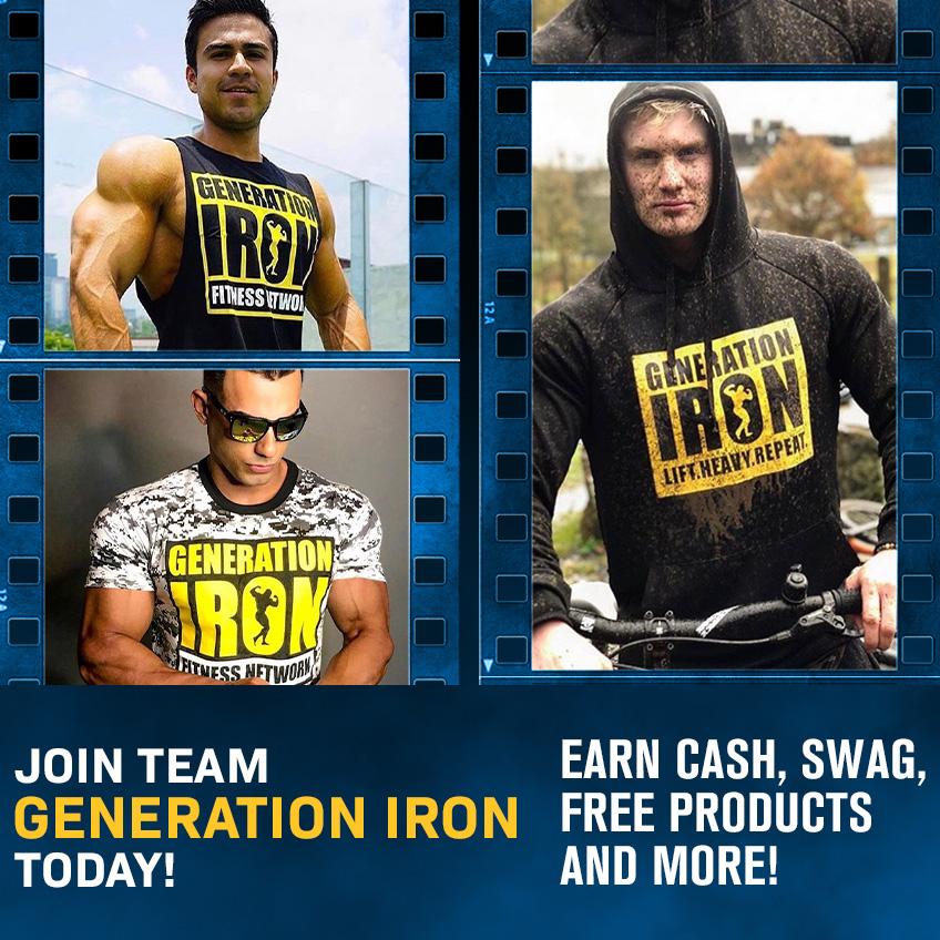 Ambassador Program Generation Iron