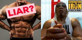 Melle Mel bodybuilding liar