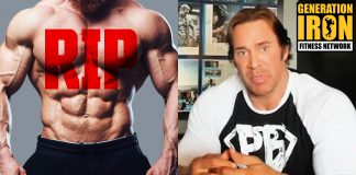 Mike O'Hearn bodybuilding death